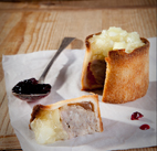 Pork Pie food photography by luke cannon photography